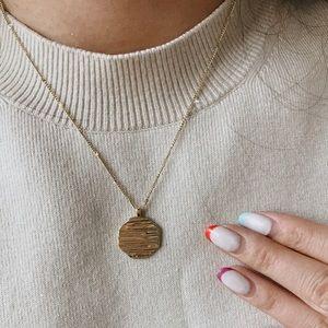 Gorjana Sunset Coin Necklace